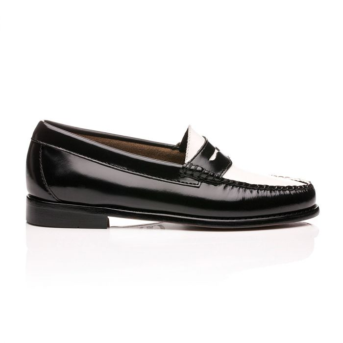 Weejuns Penny Loafers Black \u0026 White
