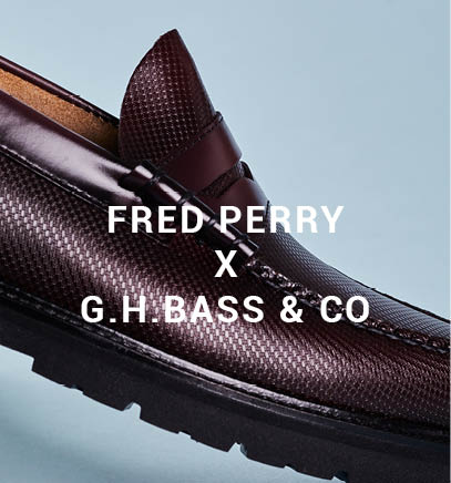 Fred Perry X G.H.Bass & Co